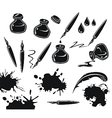Ink Set vector image vector image