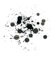 Ink splash vector image