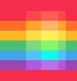 love is love flag lgbt community on flagstaff vector image vector image