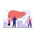 medical diagnosis concept vector image