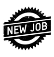New job stamp vector image vector image