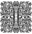pattern black vector image