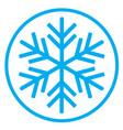 snowflake 05 vector image