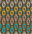 tribal seamless pattern with abstract feathers and vector image vector image