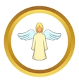 Angel icon vector image