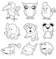 Animals set vector | Price: 3 Credits (USD $3)