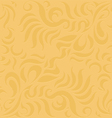 Gold pattern abstract background vector image vector image
