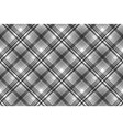 gray black white pixel check plaid seamless vector image vector image