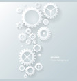 Modern abstract industrial gear background