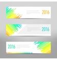 Modern banner - business banner - flyer design vector image vector image