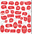 modern sale stickers collection 1 vector image vector image