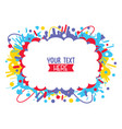 of colorful background vector image vector image
