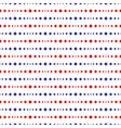 pattern-script-blue-red vector image vector image