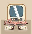 retro videogame design vector image vector image