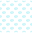 VIP cloud pattern cartoon style vector image vector image