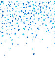 blue oktoberfest confetti on white background vector image vector image