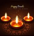 diwali festival background vector image vector image