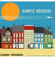 High Street Shops vector image vector image