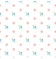 seamless bapattern nipple vector image vector image