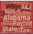 b Payroll Alabama Unique Aspects of Alabama vector image vector image