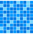 Blue tile wall vector