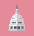 capitol building symbol vector image