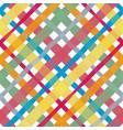 check watercolor pattern seamless vector image vector image