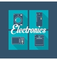 home electronic appliances image vector image vector image