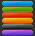 rectangle horizontal bright colorful button