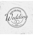 Wedding badges cards and labels for any use vector image vector image