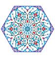 Antique ottoman turkish pattern design eighty five vector image vector image