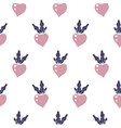 beetroot seamless pattern on white vector image vector image