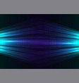blue side spotlight abstract background vector image vector image