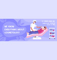 cosmetic clinic advertising banner