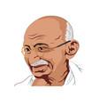 gandhi jayanti vector image