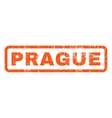 Prague Rubber Stamp vector image vector image
