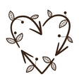recycle arrows in a shape of heart