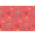 Tasty Cakes Seamless Pattern vector image