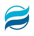 template logo design globe icon vector image vector image