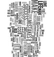 you can be a success text word cloud concept vector image vector image