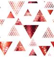 Retro pattern of geometric shapes vector image