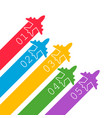 airplane flight infographic icon in flat style vector image vector image