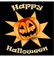 background with The Jack Olantern vector image vector image