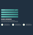 business infographic data style background vector image