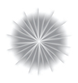 Explosion background with gray colors vector image