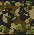 Green and black camouflage pattern - military