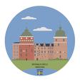 Gripsholm castle vector image