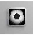 Soccer and sports app icon for mobile devices vector | Price: 1 Credit (USD $1)