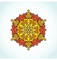 Circular mandala vector image vector image