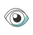 eye vector image vector image